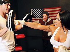 Jenaveve is a two time Boxing champ was forced to retire early...