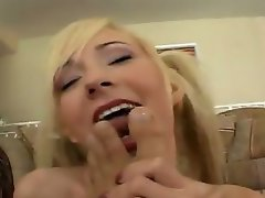 Watch as this cute cock slut takes on  nasty dude. Witness her take...