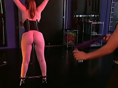 This helpless slut shows she can tolerate the pleasures or pain given...