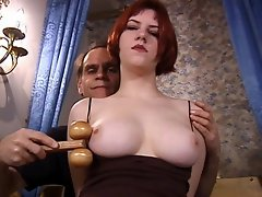 Busty 19 year matured college sexy girl Megan is pladging for a...