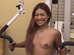 Watch this Asian whore as she warm ups for a sexual experience. After...