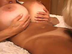 Watch as this cute blonde babe shows her sexy body. See her put her...