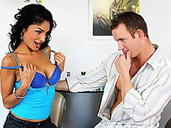 Persia Pele is a lonely slut that wants more cock.  Her stepson TJ...