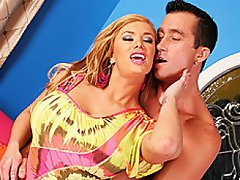 Blond, big ass, big tits - Shyla Stylez is the perfect fuck slut! ...