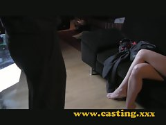Casting - Mom accepts anal and gets creampied