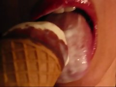 gigino&amp,#039,s wife lick a icecream