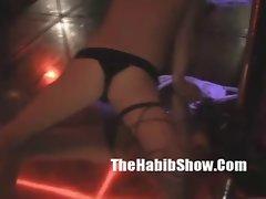 VIP Strippers Backstage GEtting hood