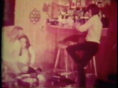 Vintage: Foursome in the bar