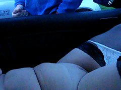 dogging in a carpark