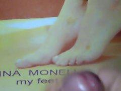 Tribute to Gina Monellis feet