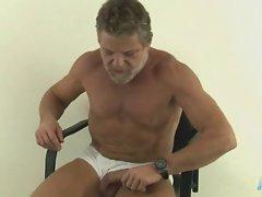 Old sexy man handjobs
