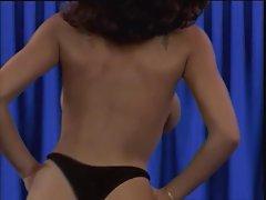 Charmaine Sinclair: Sexy Black Vintage Strip - Ameman