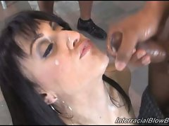 Dylan Ryan suck black dicks til the orgasm release