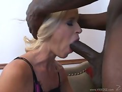 whore Totally Tabitha takes a huge cock down her throat