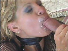 Rio Mariah receives a hot reward of cock sauce after a good fuck