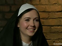 Angell Summers is a sinful nun that deserves a punishment.