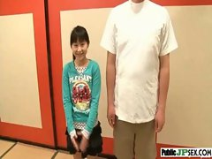 Hot Model Japanese Get Nailed In Public video-22