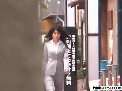 Hot Model Japanese Get Nailed In Public video-30