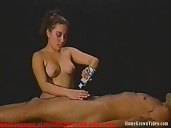 My Sexy Girlfriend Is Very Skilled At Making Me Cum With Her Hands