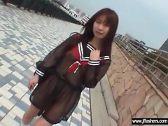 Asians Flashing Body And Getting Bang clip-27