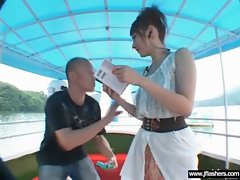 Asians Flashing Body And Getting Bang clip-06
