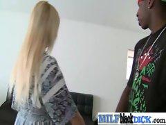 Milf Slut Get Fucked Hard By Black Cock clip-28