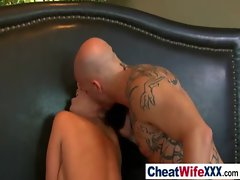 Hardcore Sex With Hot Busty Wife clip-17