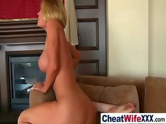 Hardcore Sex With Hot Busty Wife clip-18