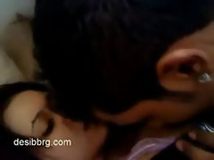 Cute indian girlfriend homemade sex