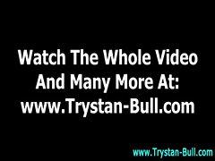 Trystan Bull enjoys hot blowjob cumshot action