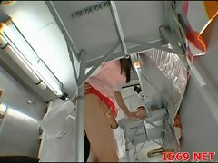 Japanese AV Model in bondage