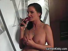 Big boobs Carmen breeding her awesome
