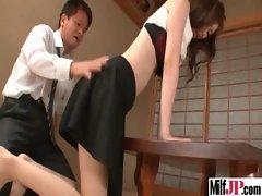 Milf Japanese Get Hardcore Fucked clip-07