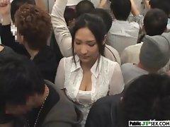 Outdoor Cute Japanese Girl Get Sex clip-30