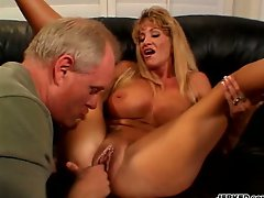 Busty Wife Cheats In Front Of Husband