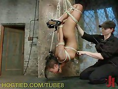 Beautiful Babe Loves Bondage Orgasms