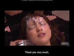 Yukiko Bukkake 2 asian cumshots asian swallow japanese chinese