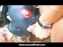 Rocco Siffredi Gets a Blowjob on the Toilet