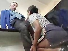 Indian maid services cock