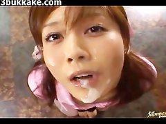 Japanese Bukkake Cumshots Compilation 26