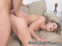 Naturally Shy Wife Fucked By Friend