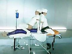 Zoe Young amp Sabrina Jade Latex Nurses Anal bdsm bondage slave femdom domination