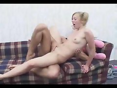 Young Girl Gets Creampied When Playtime Is Interrupted By Cock