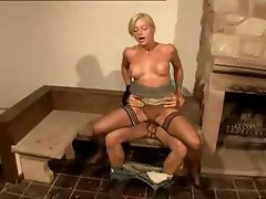 Hot Blonde German MILF
