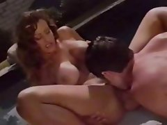 Hot vintage action with blondes and brunettes getting nailed