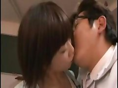 Noncompliant Japanese hooker with a moral vagoo gets it on with anyone