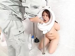 Asian Girl Toilet
