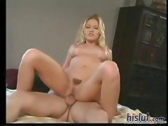 Froward breezie with a naughty cooter, Julie, gets her ass jammed with a pecker