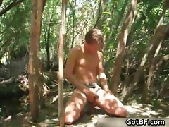 Twink Jerking Off In The Woods