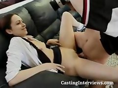 Deceptive prostitot with a treasured velvet purse, Alexia, sits on a cock